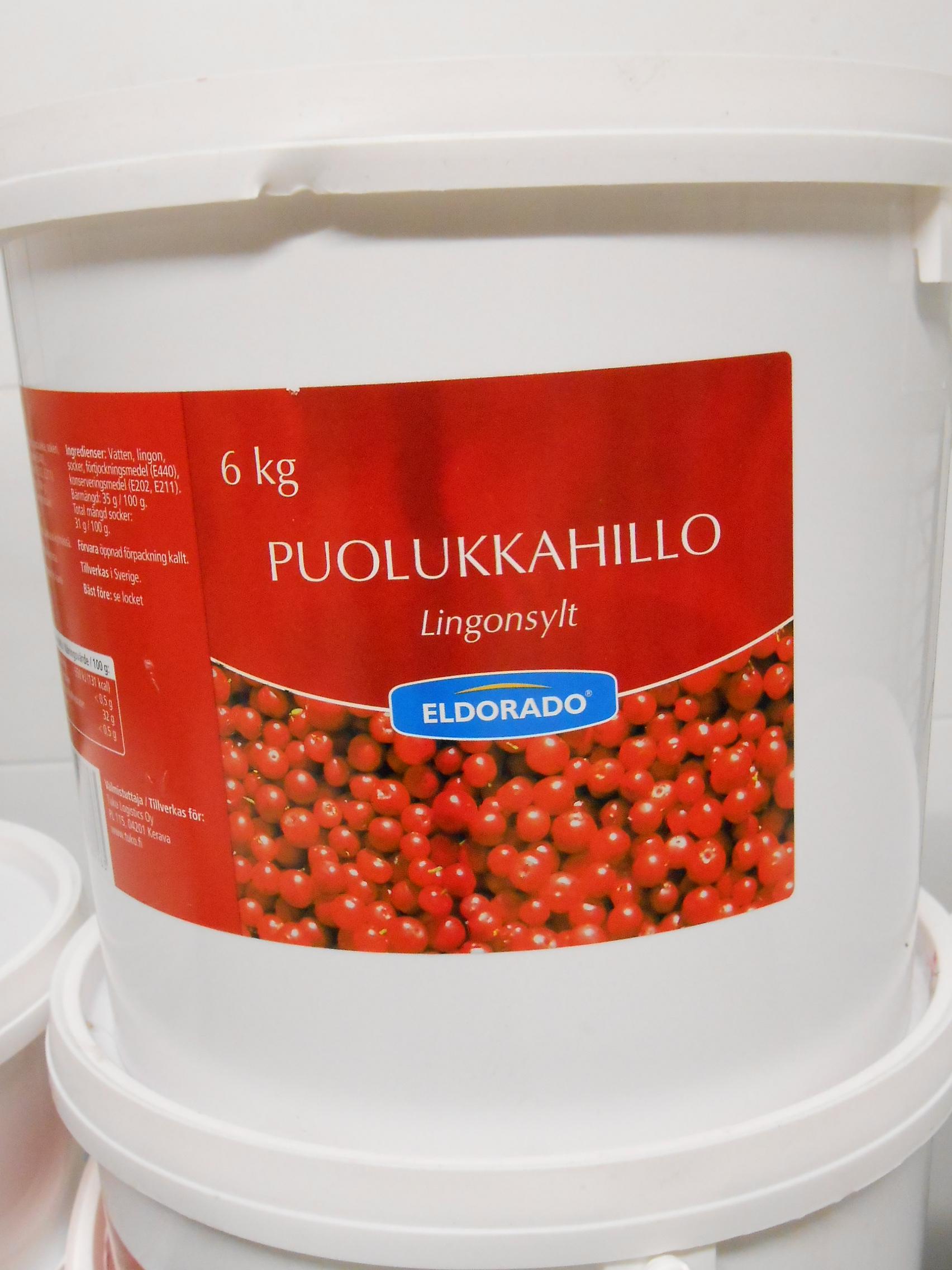 PUOLUKKA HILLO 6,0 KG