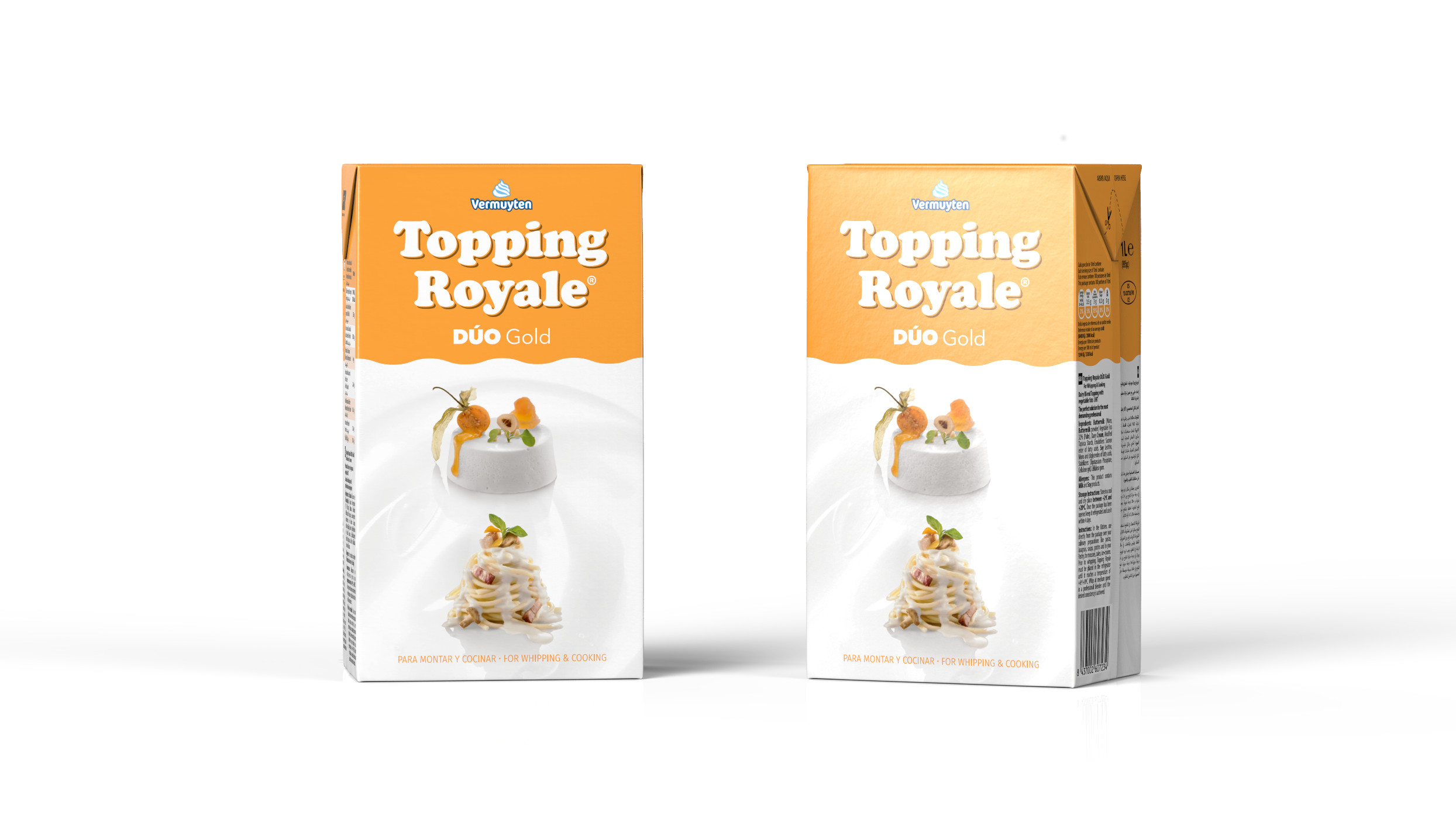 TOPPING ROYALE DUO GOLD 3D DESIGN